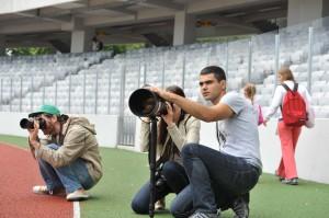 Raed Krishan explica tehnicile de fotografiere sportiva