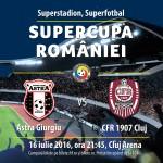 afis Supercupa Romaniei